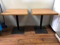 Restaurant / Cafe dining Tables Vancouver, V5N 2P1