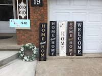 4ft wooden signs. Customized orders (24 hrs). Delivery  St Catharines, L2P 3K9