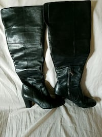Bandolino leather boots size 6 1/2 Perkasie, 18944
