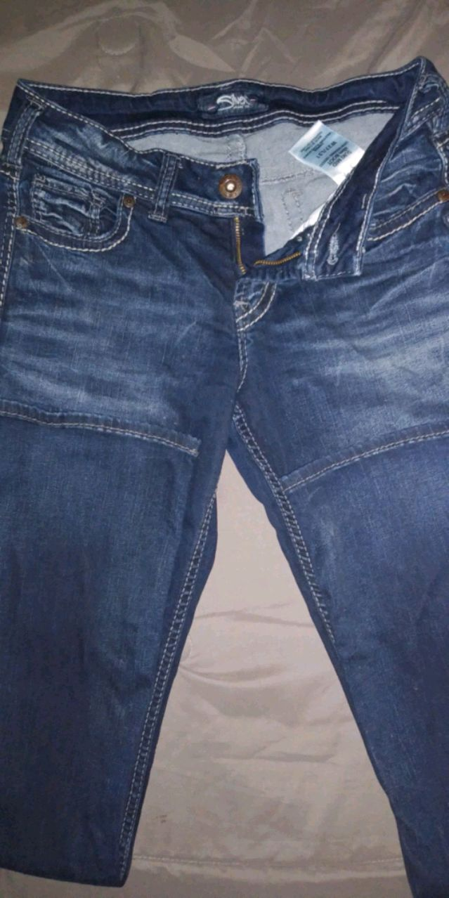 Photo Silver jeans