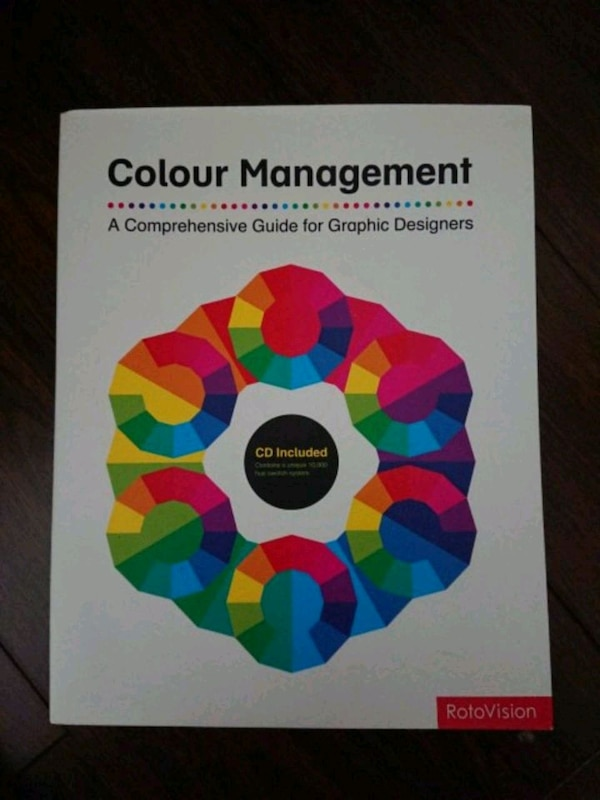 Colour Management. CD included