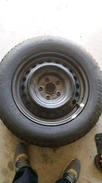black bullet hole vehicle wheel and tire Brampton, L7A 2Y8
