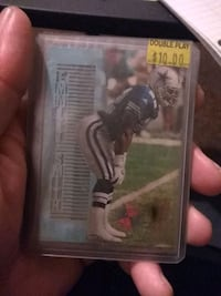 Foot ball card