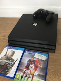 Playstation 4 PRO console with Games Warrington, WA4