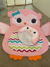 Tummy time prop & play mat