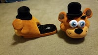 Five Nights at Freddy's Slippers