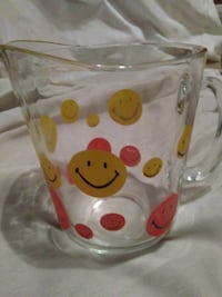 Pitcher with smiley faces  Hattiesburg