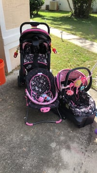 baby's black and pink travel system Palm Coast, 32164