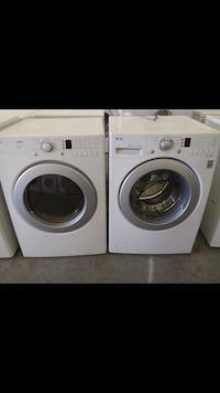 white front-load washer and dryer set Gaithersburg, 20878