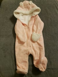 6-12m Old Navy fleece suit NEW Division No. 11, 000000