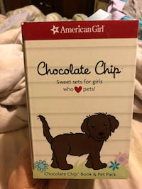 American Girl Chocolate Chip pet and book Germantown, 20874