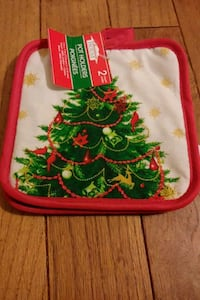 pot holder 2 pack Christmas Naugatuck, 06770