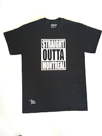 Straight outta Montreal t-shirt Montréal, H1T 2V8