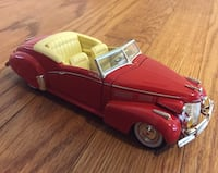 1940 Cadillac coupe diecast  Plymouth