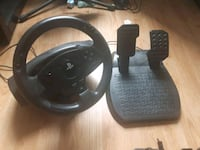 Ps4/Ps3 Steering wheel with pedals Cambridge, N1R 1V4