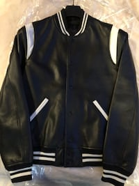 Coach men's black baseball leather varsity jacket and the size is small  Winter Haven, 33884