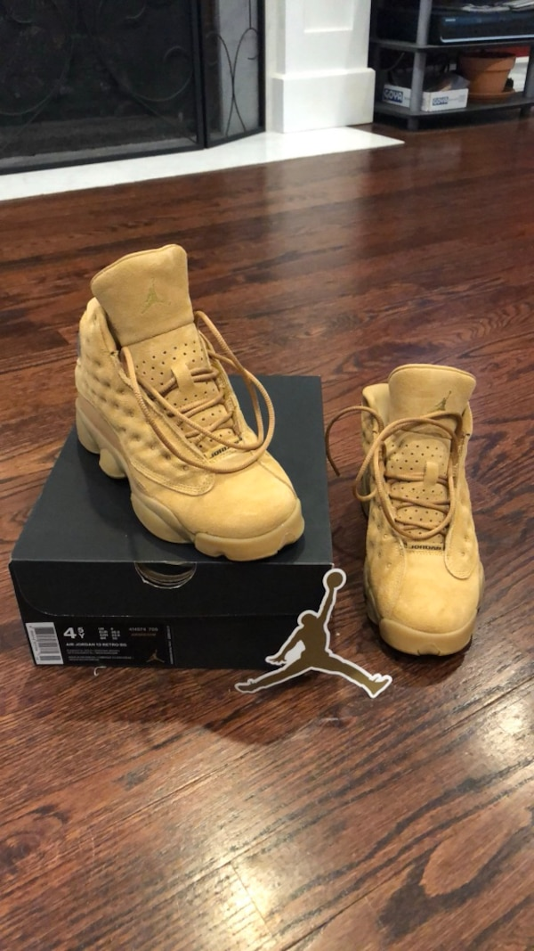 cc02339d34dccf Used Air Jordan 13 Wheats for sale in New Hyde Park - letgo