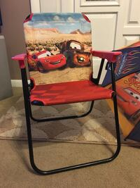 Youth/child Lighting McQueen folding chair