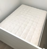 Moving sale! Full size white mattress Irvine, 92620