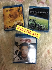 BLU-RAY MOVIES ($10 for All!) Toronto, M6G