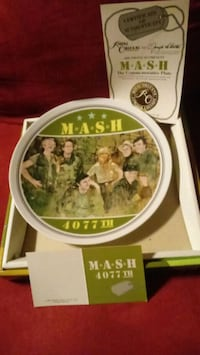 MASH 4077 th Collectors Plate Fort Wayne, 46808