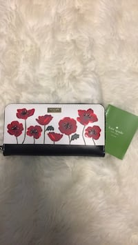 NWT Kate Spade Floral Wallet Troy, 48085