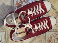 Low top red glittery converse  Montgomery, 36116
