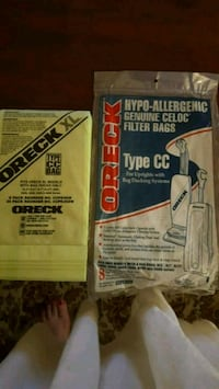 ORECK Vaccum  Bags. UnUsed, 11 bags Ashburn