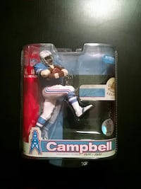 Campbell football player figure pack Cary, 60013