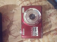 red Nikon Coolpix point-and-shoot camera Ferron, 84523