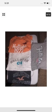 4 Hollister Tees(juniors) Paicines, 95043