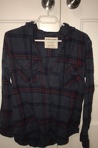 Garage boyfriend fit hooded flannels London, N6B