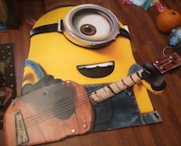Giant Minion Minions movie standee poster Charlotte, 28105