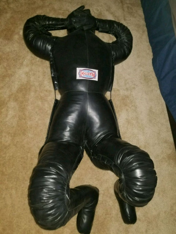 Submission grappling man dummy