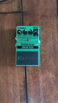 Digitech synth wah guitar effects pedal Sterling, 20165