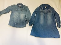 denim size 5t and 10 London, N6H 0G2