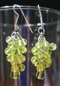 'Champagne' Grape Cluster earrings Midwest City
