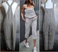 Wilfred Free Valletta grey overalls size xs fits like a size small