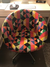 Firm Price $50 IKEA COLORFUL SWIVEL CHAIR