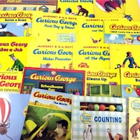 Lot 23 Curious George Books Classic Picture Storybooks Collection Boys Girls 4-8 Port Colborne