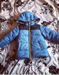 Carters blue zip up jacket.  Oak Forest, 60452