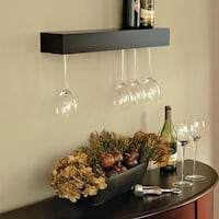 Brand New Pinot Espresso Wall-Mount Wine Rack Louisville, 40241