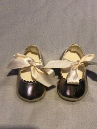 Babygirl Gold Slip Shoes Rockville, 20853