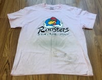Roosters pink T-shirt large Lancaster, 43130