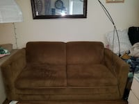 brown fabric loveseat Orlando, 32836