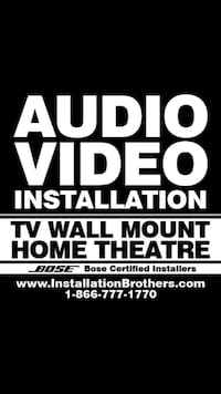 Home theater installation Toronto, M6A 2S7