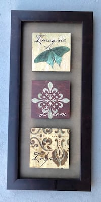 Butterfly picture framed San Mateo, 94401