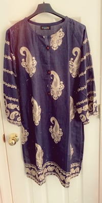 Very pretty soft material embroided kurtas large size Columbia, 21044