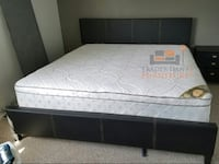 Brand new king size platform bed frame with mattress Silver Spring, 20902