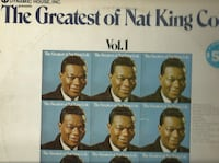 33 vinyl The Greatest of Nat King Cole Vol 1 & 2 1 Newmarket